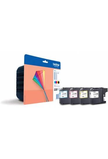 Cartuchos tinta Brother DCP J4620DW MFC J4420DW Pack 4 colores LC223VALBP