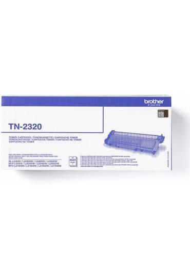 Toner Brother L2300 L2500 negro TN2320