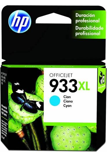 Cartucho HP Nº933XL cyan alta capacidad CN054AE