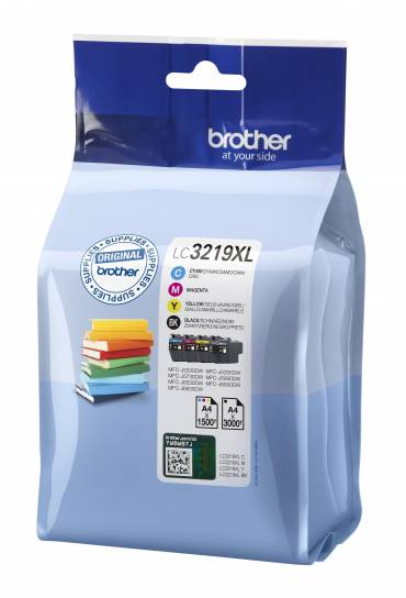 Cartuchos tinta Brother MFC J5330  J6530 Pack 4 colores LC3219XLVAL