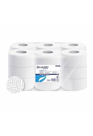 Papel higienico Jumbo Strong 2C 125mts 18 rollos