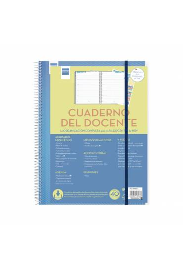 Agenda cuaderno del docente S/V 230x310 Finocam