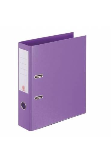 Archivador folio 55 mm forrado PP JMB violeta