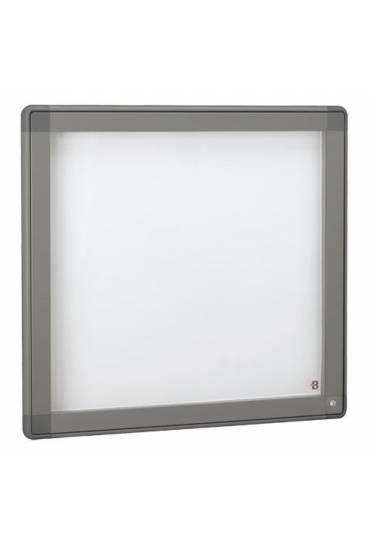 Vitrina exterior JMB puerta cristal 71x74 gris
