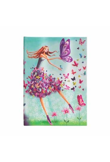 Cuaderno Paperblanks Mariposas verano rallado Midi