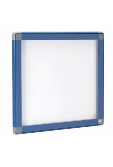 Vitrina exterior JMB puerta cristal 71x74 azul