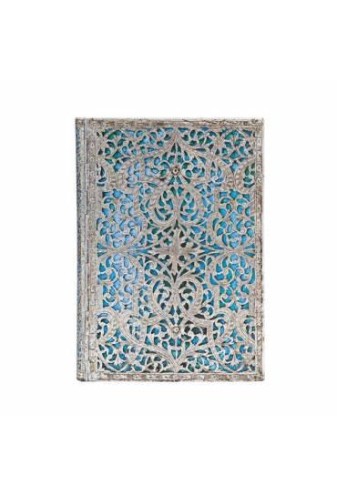 Libreta direcciones Paperblanks Azul Maya Midi