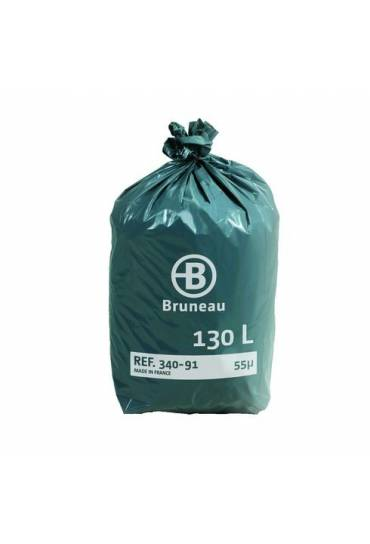 Bolsas basura 130l  rollo 100 unidades