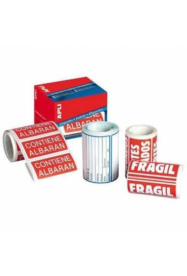 Rollo 200 etiquetas ''fragil'' 50x100