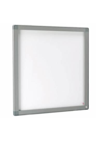 Vitrina exterior JMB puerta cristal 101x95 gris