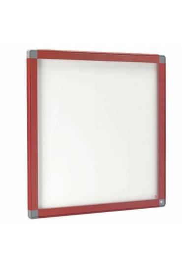 Vitrina exterior JMB puerta cristal 101x95 roja
