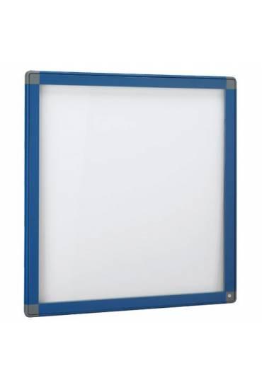 Vitrina exterior JMB puerta cristal 101x95 azul