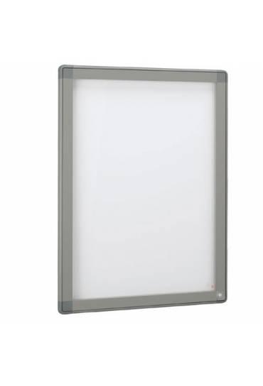 Vitrina exterior JMB puerta cristal 101x74 gris