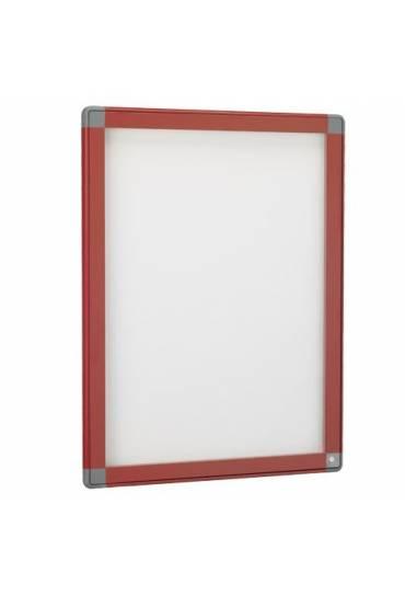 Vitrina exterior JMB puerta cristal 101x74 roja