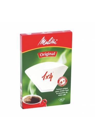 Filtro café 40 unidades