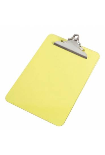 Portabloc plexiglas amarillo fluor 22,8 x 35,5
