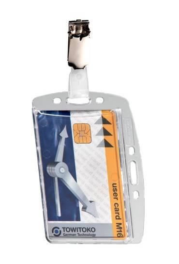 Identificadores rigidos Durable 1 tarjeta caja 25