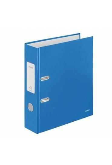 Archivador A4 80 mm Leitz Wow azul