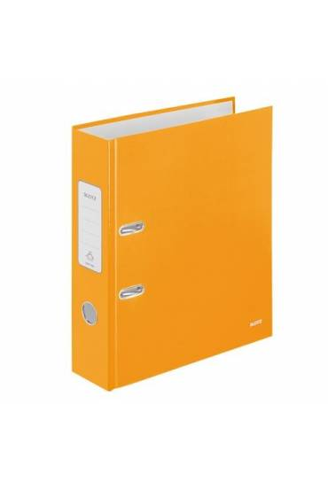 Archivador A4 80 mm Leitz Wow naranja