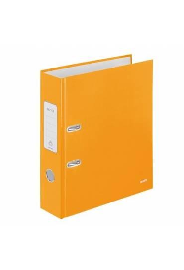 Archivador A4 80 mm Leitz Wow naranja