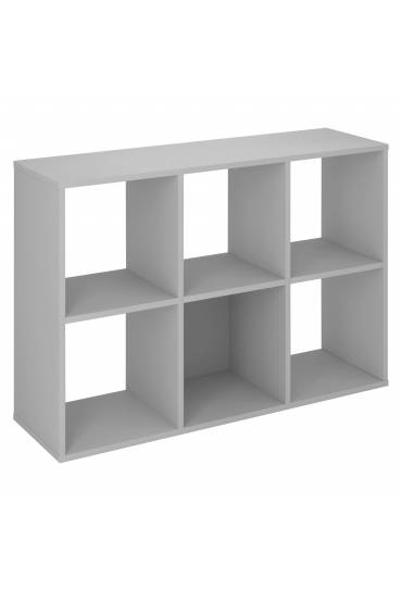 Estructura Maxicubos 6 compartimentos gris