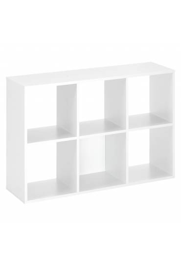 Estructura Maxicubos 6 compartimentos blanco