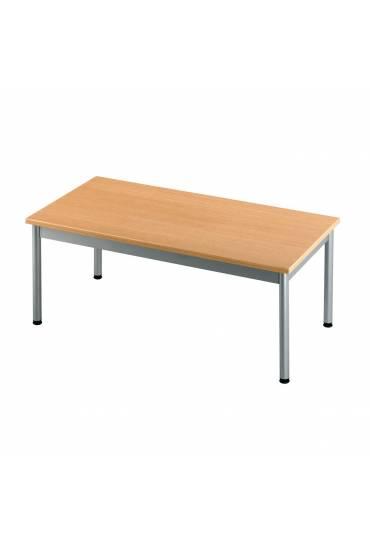 Mesa baja clasica rectangular 100x50 Haya