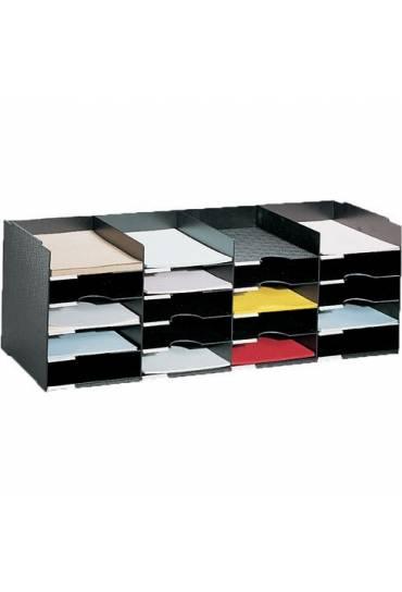 Modulo Organizador 92 cm 20 casillas negro