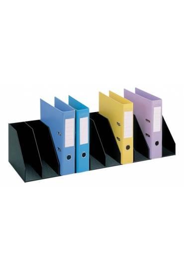 Organizador Vertical 90cm 10 separadores Negro