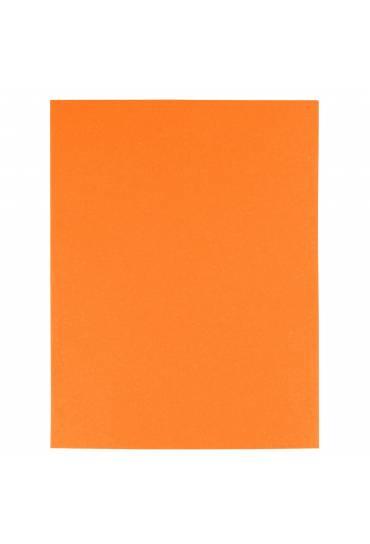 Subcarpeta 180g reciclada Exacompta naranja 100 un