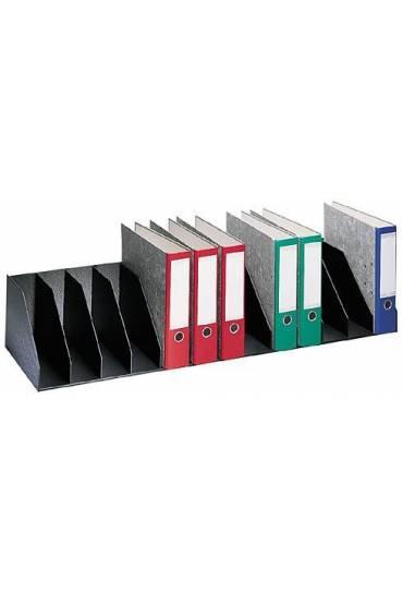 Organizador Vertical 112 cm 13 separadores Negro