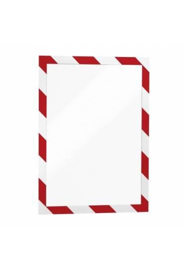 Fundas  adhesivas A4 security rojo/blanco 2 unidad