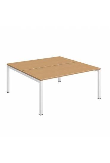 Conjunto 2 mesas160 blanco Arko haya