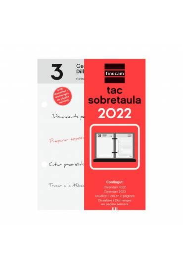 Taco calendario sobremesa Finocam catalan