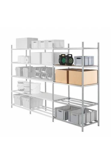 Estantería industrial Pro adicional 200x125x40 cm