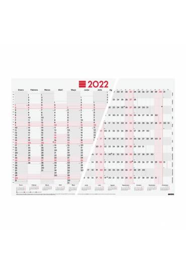 Calendario anual planificador Finocam escribir