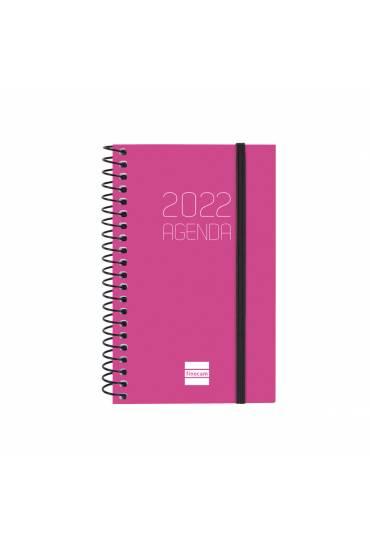 Agenda finocam Opaque E10 dia pagina rosa