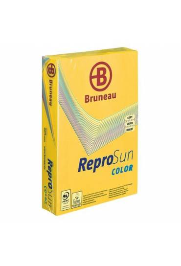 Papel A4 80 grms 500 h amarillo vivo JMB