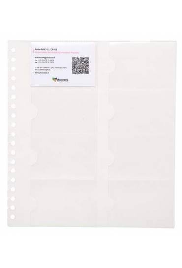 Fundas tarjetero exacard 25.5x23 Paquete 10
