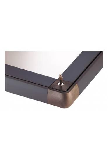 Vitrina exterior JMB puerta Plexiglas 34x25,5 gris