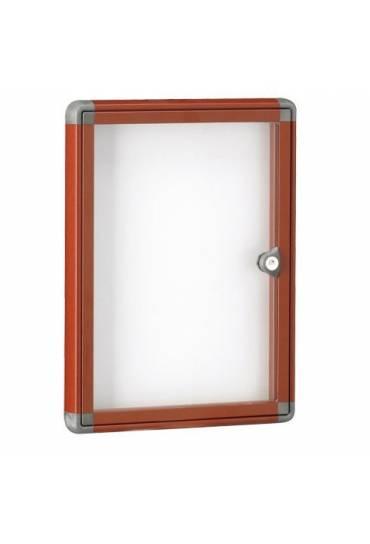 Vitrina exterior JMB puerta Plexiglas 34x25,5 roja