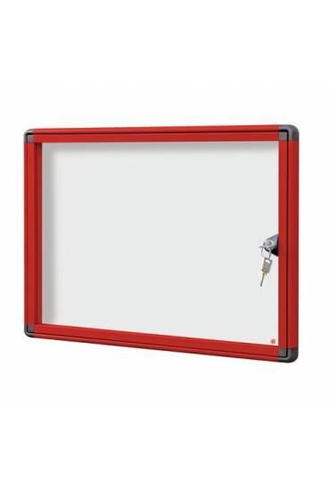 Vitrina exterior JMB puerta Plexiglas 34x46,5 roja