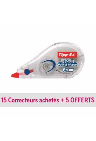 Cinta correctora Tipp-ex pocket mouse caja 20