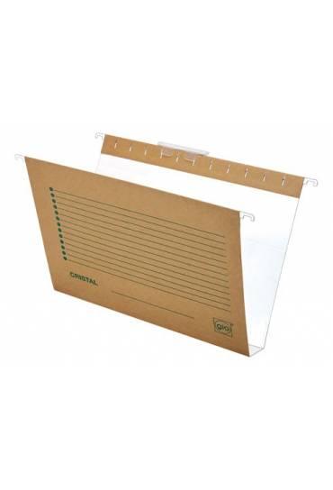 Carpetas colgantes  folio bicolor L30 cajon 25 und