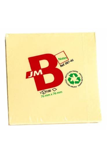 Bloc 120 notas recicl.76x76 jmb