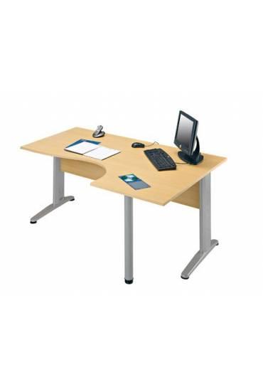 Mesa lado derecho haya patas aluminio Altys