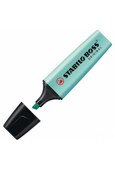 Marcador fluorescente Stabilo Boss Azul Pastel