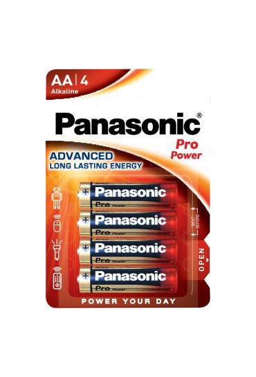Pilas Panasonic  Pro Power LR6 AA blister de 4