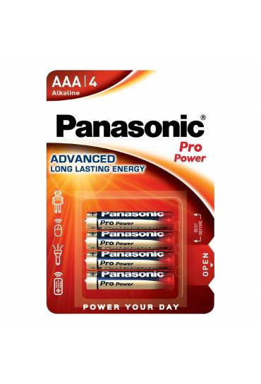 Pilas Panasonic Pro Power LR03 AAA blister de 4