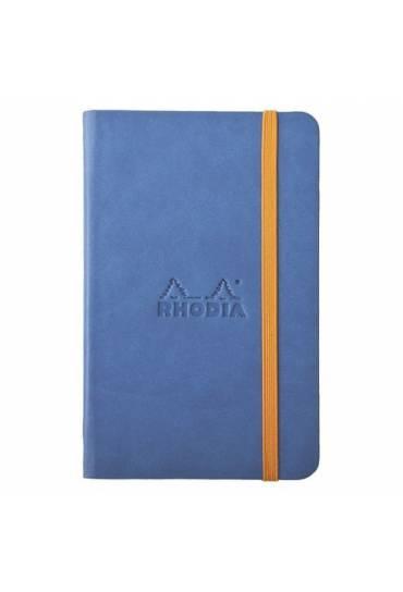 Cuaderno Rhodiarama A6 rayado azul